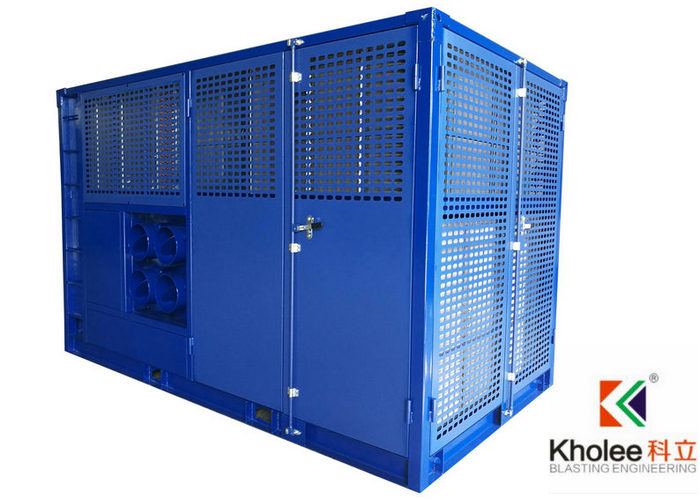 Air Cooled Dehumidifier With Desiccant Rotor For Tropical Desert Climate