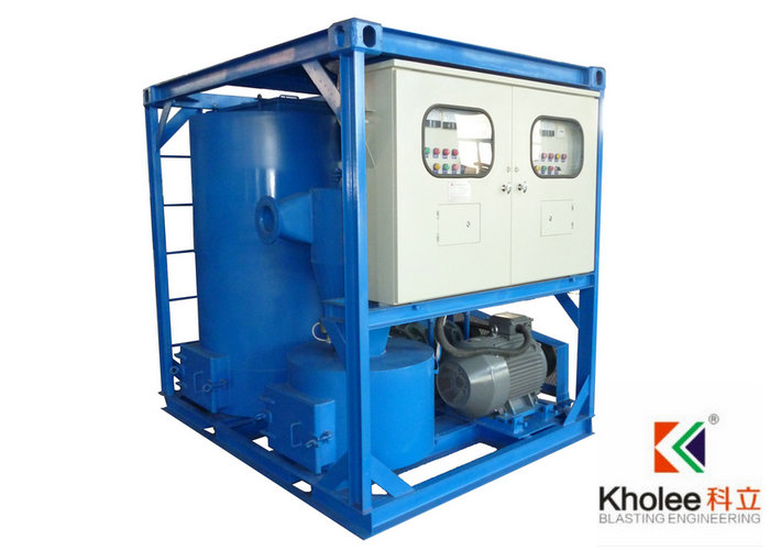 Portable Vacuum Recovery Machine for Blasting Abrasives Recovery