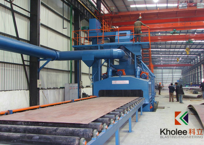 KLB Series Steel Plate Shot Blasting Machine