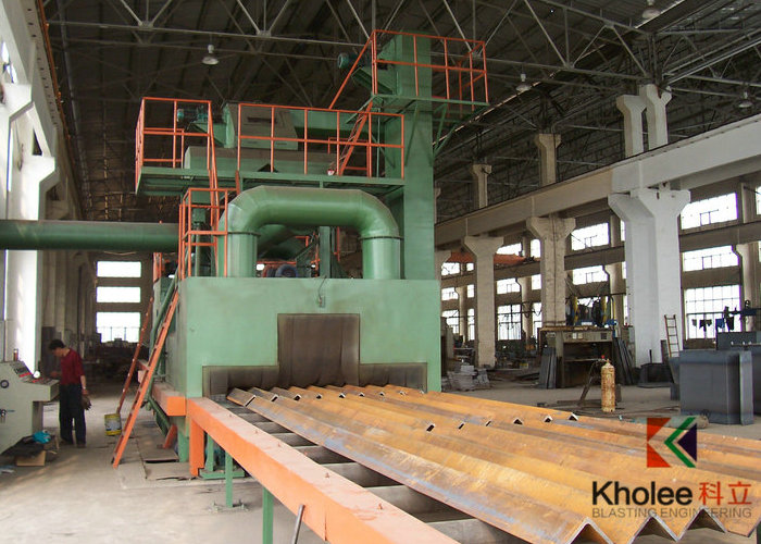 KLB Roller Conveyor Shot Blast Machine