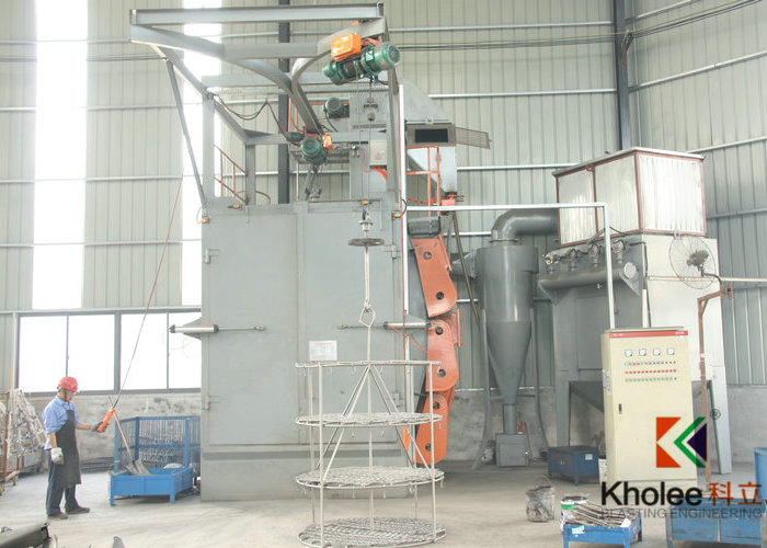 KLQ Spinner Hanger Shot Blasting Machine