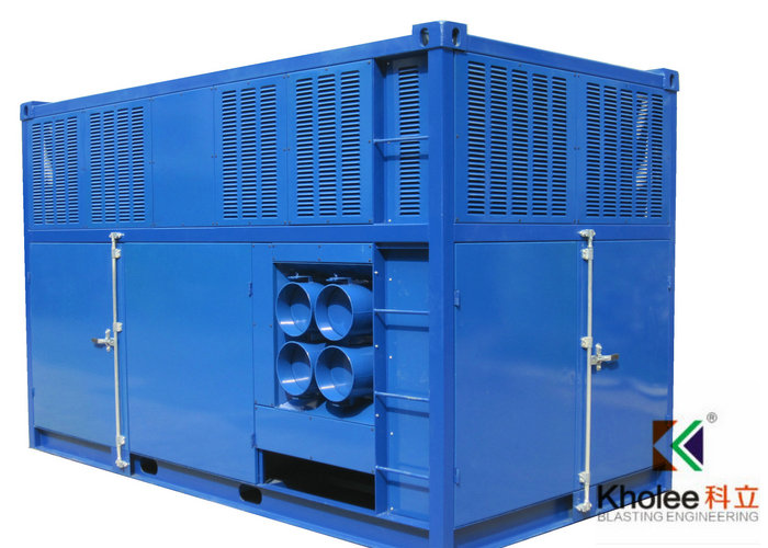 Air Cooled Dehumidifier With Desiccant Rotor For Blast Paint Hall