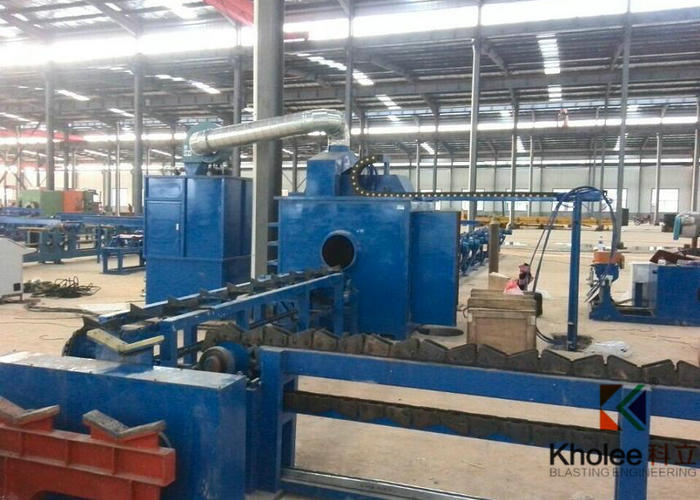 Steel Pipe Airless Painting Production Line