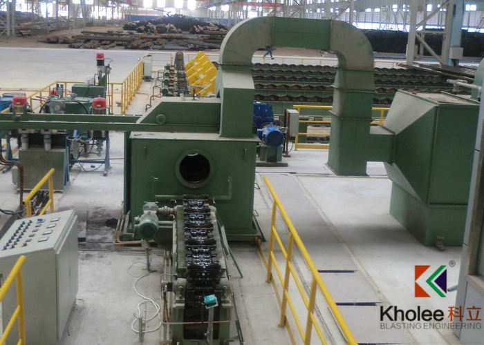 ERW Steel Tube AIrless Painting Production Line