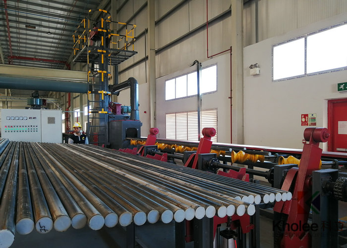 Steel Tube Shot Blasting Painting Production Line