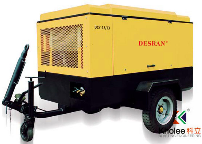 Diesel Portable Screw Compressor