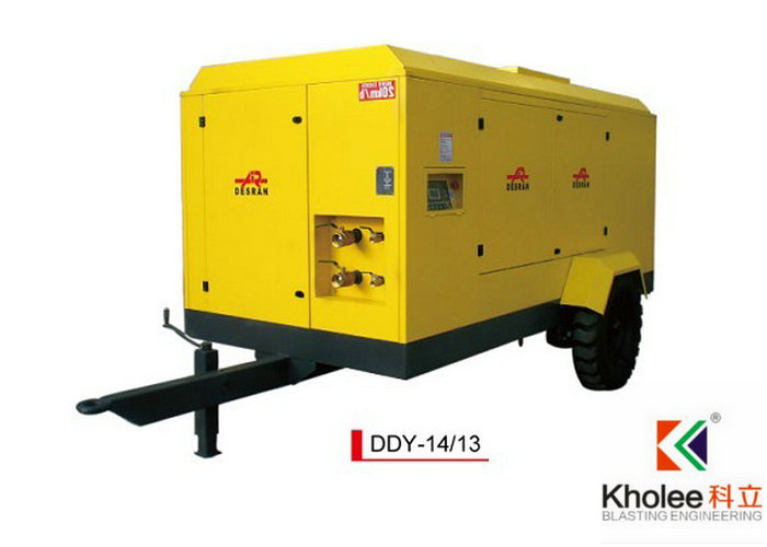 Electric Portable Screw Compressor