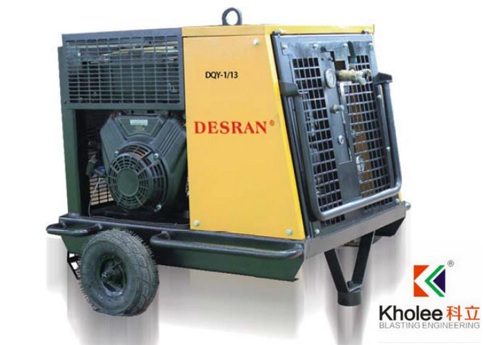 Petrol Portable Screw Compressor