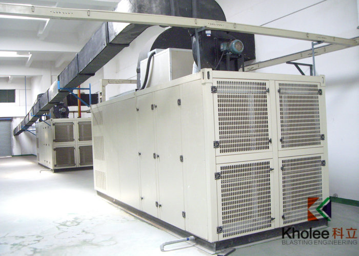 Air Cooled Dehumidifier for Blasting Painting Hall