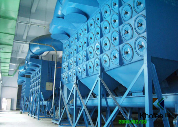 Pulse Jet Dust Collector for Blasting Chamber