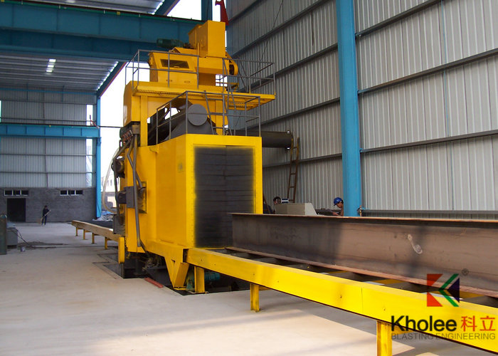 KLH1020-8 Wheel Blasting Machine for H Beam and Steel Structures