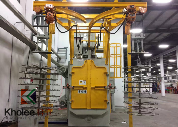 KL-H2D1T0812 Spinner Hanger Shot Blasting Machine