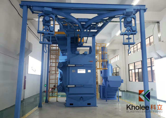 KL-H2D1T0815 Spinner Hanger Shot Blasting Machine